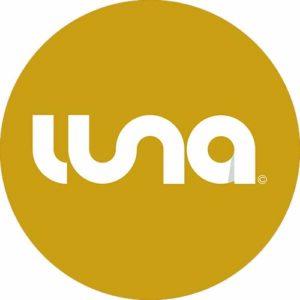Luna Records Logo Yellow Slipmat