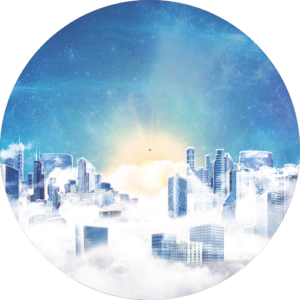 City in the sky Slipmat