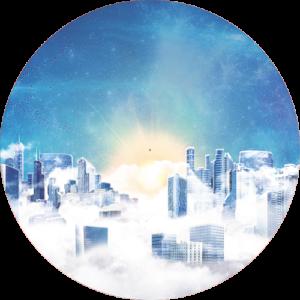 City in the sky Slipmat