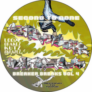 DJ Junk – Second To None 'Breaker Breaks Vol 4' Slipmat