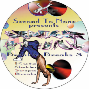 DJ Junk – Second To None 'Breaker Breaks Vol 3' Slipmat