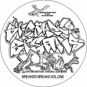 DJ Junk – Second To None 'Breaker Breaks Vol 1' Slipmat