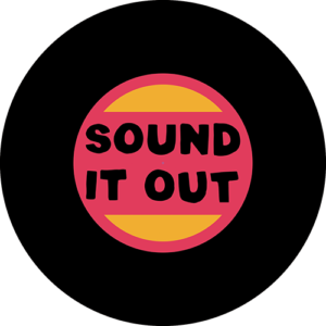 Sound it Out – Red/Orange/Black Slipmat