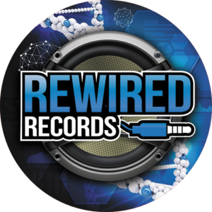 Rewired Records Blue Slipmat