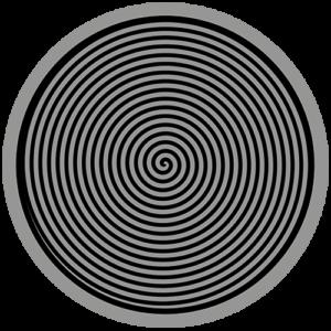 Spiral – Grey / Black Slipmat