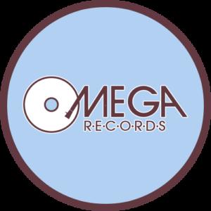 Omega Records – Blue Slipmat