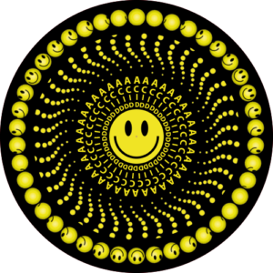 ACID Smiley Slipmat