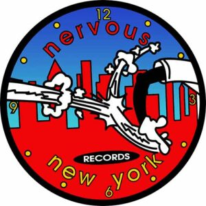 Nervous New York B Slipmat