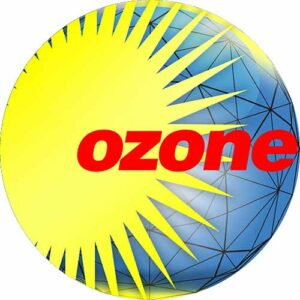 Ozone Grid Yellow Slipmat