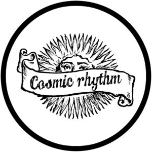 Cosmic Rhythm White Slipmat