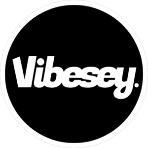 Vibesey Black Slipmat
