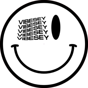 Vibesey Smiley – White Slipmat