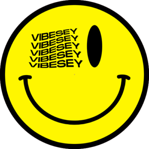 Vibesey Smiley Yellow Slipmat