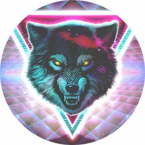 Laser Wolf Slipmat