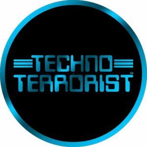 Techno Terrorist – Blue Slipmat