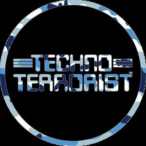 Techno Terrorist – Blue Camo Slipmat
