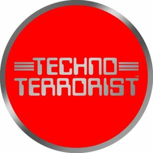 Techno Terrorist – Silver Red Slipmat