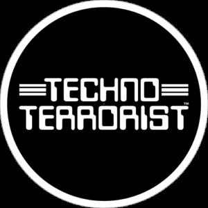 Techno Terrorist – Black / White Slipmat