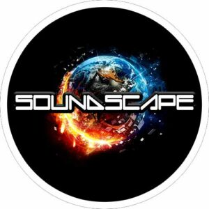 Sound Scape – Black Slipmat