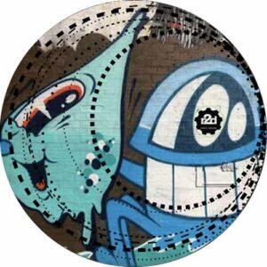 R2D Graffiti 2 Slipmat