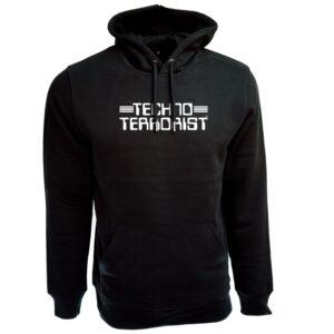 Techno Terrorist Hoodie – Standard Logo