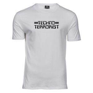Techno Terrorist T-shirt – Standard Logo
