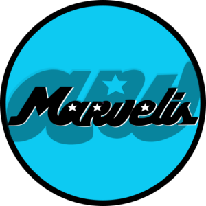 Marvelis Records – Main Logo Slipmats