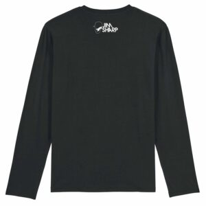 Jim Sharp After Laughter Comes Tearz – Black Long Sleeve T-shirt