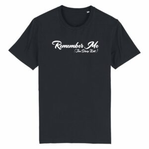 Jim Sharp Remember Me – Black T-shirt