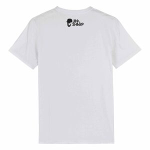 Jim Sharp Big Head – White T-shirt