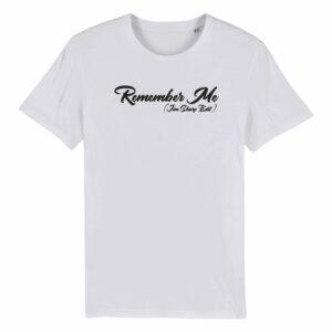 Jim Sharp Remember Me – White T-shirt