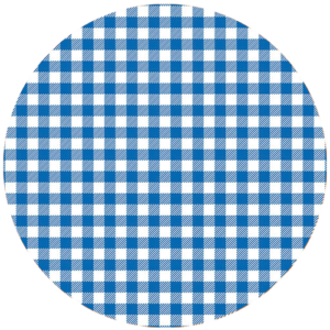 Black Slab Gingham Blue Slipmat