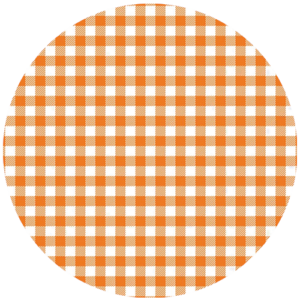 Black Slab Gingham Orange Slipmat