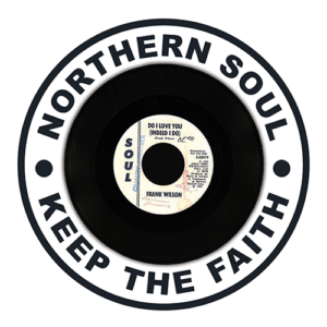 "Black Slab Northern Soul ""Do I Love You"" Slipmat"
