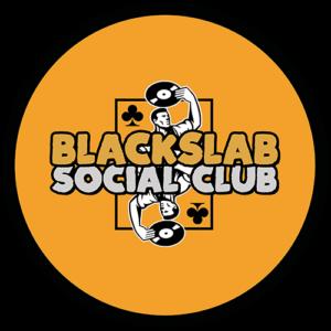 Black Slab Social Club Orange Slipmat