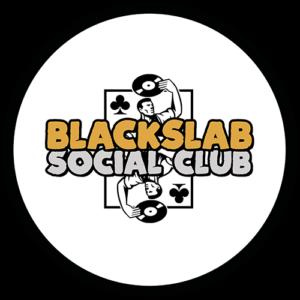 Black Slab Social Club White Slipmat