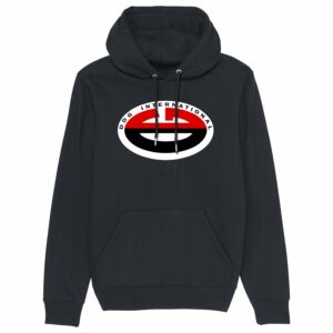 Dead Dead Good  International Hoodie Black
