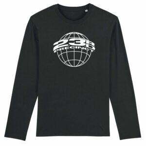 23rd Precinct Long Sleeve T-shirt Black 1
