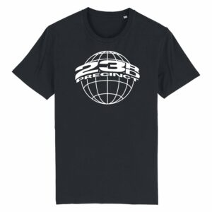 23rd Precinct Retro T-shirt Black 1
