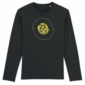 23rd Precinct Long Sleeve T-shirt Black 2
