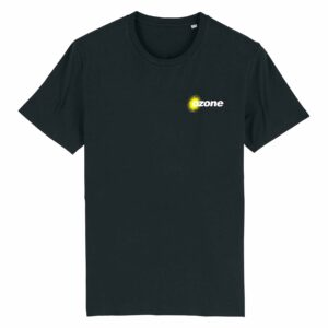 Ozone Recordings Retro Black T-shirt Design 2