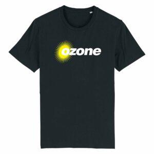 Ozone Recordings Retro Black T-shirt Design 3