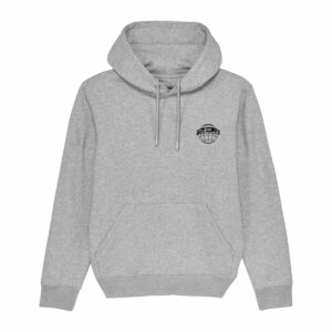 23rd Precinct Hoodie Heather Grey 2