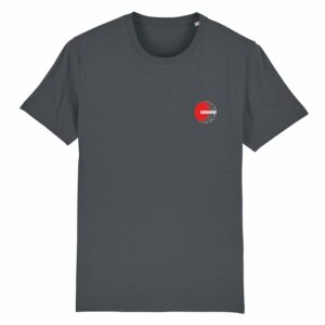 Ozone Recordings Retro Grey T-shirt Design 1
