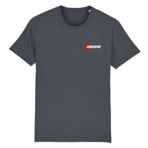 Ozone Recordings Retro Grey T-shirt Design 2