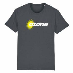 Ozone Recordings Retro Grey T-shirt Design 3