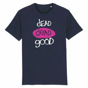 Dead Dead Good T-shirt Navy