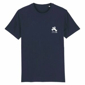 Limbo Records Retro T-shirt Navy 2