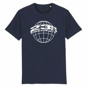 23rd Precinct Retro T-shirt Navy 1