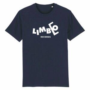 Limbo Records Retro T-shirt Navy 6